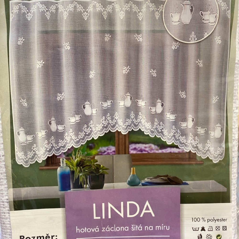 záclona hotová Fo Linda 250x120