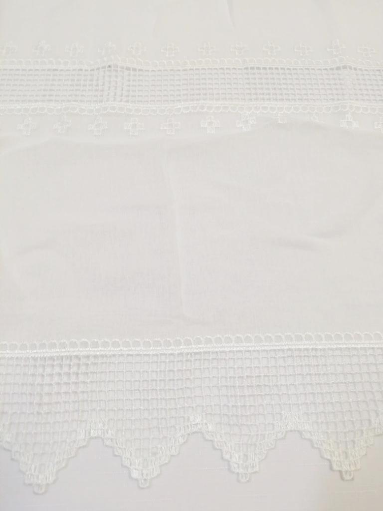 záclona Ra Wilma  0,60 vitrážka  krémová