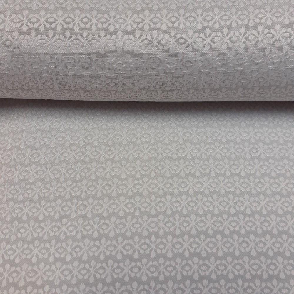 dekoračka krémová vytlačovaný vzor 160cm pes/polyacryl
