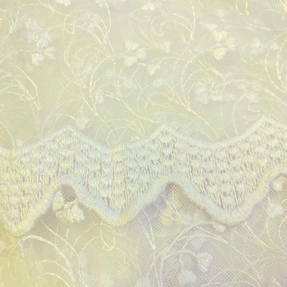záclona Br.1213/180 vyšívaná