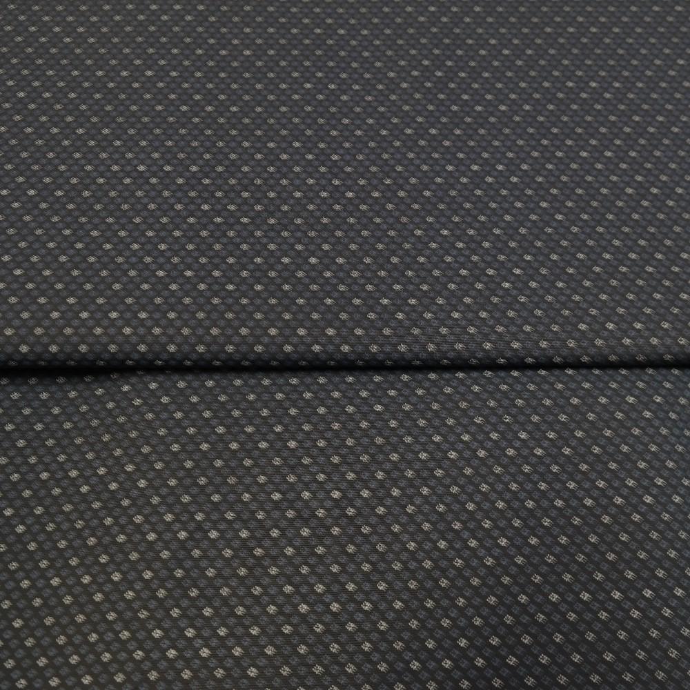 košiloviny tmavě modrá vzor 140cm