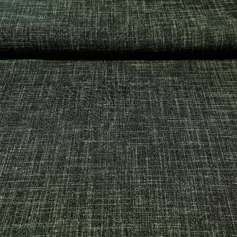 dekoračka polyester khaki mel  140 cm