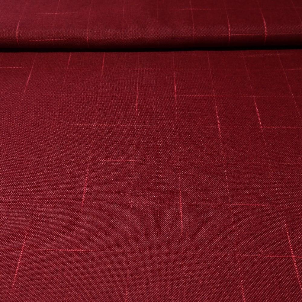 dekoracka VE 3082/160/V6 N jakost bordová nepr.vytk.kostky