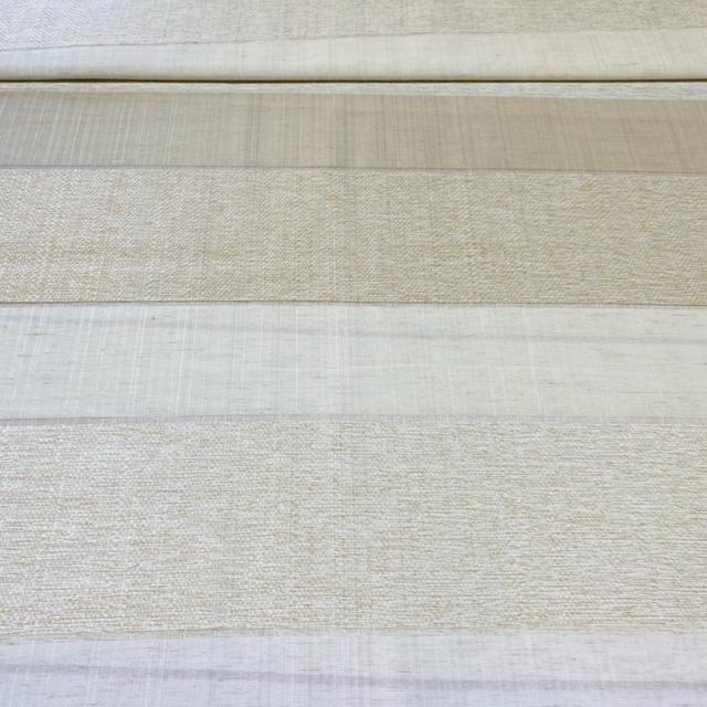 záclona  voál  51901450/140  1 j.  krémovo stříbr.