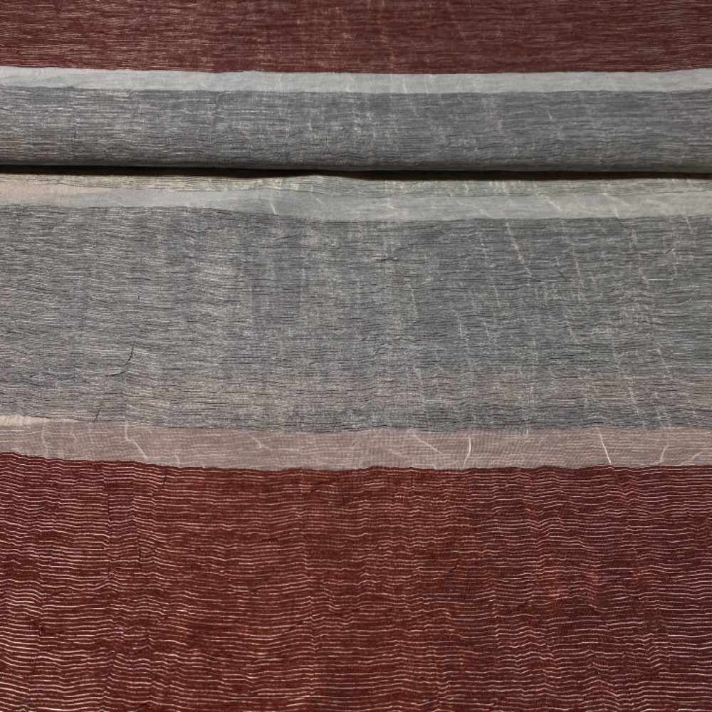 záclona Lejan šedovínpruh š.130cm