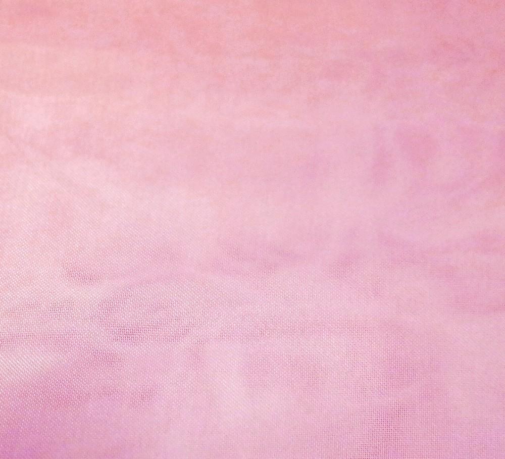 záclona organza růžová