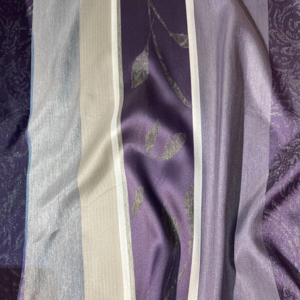 dekoračka  6237 540 fial.šed.béž.listy