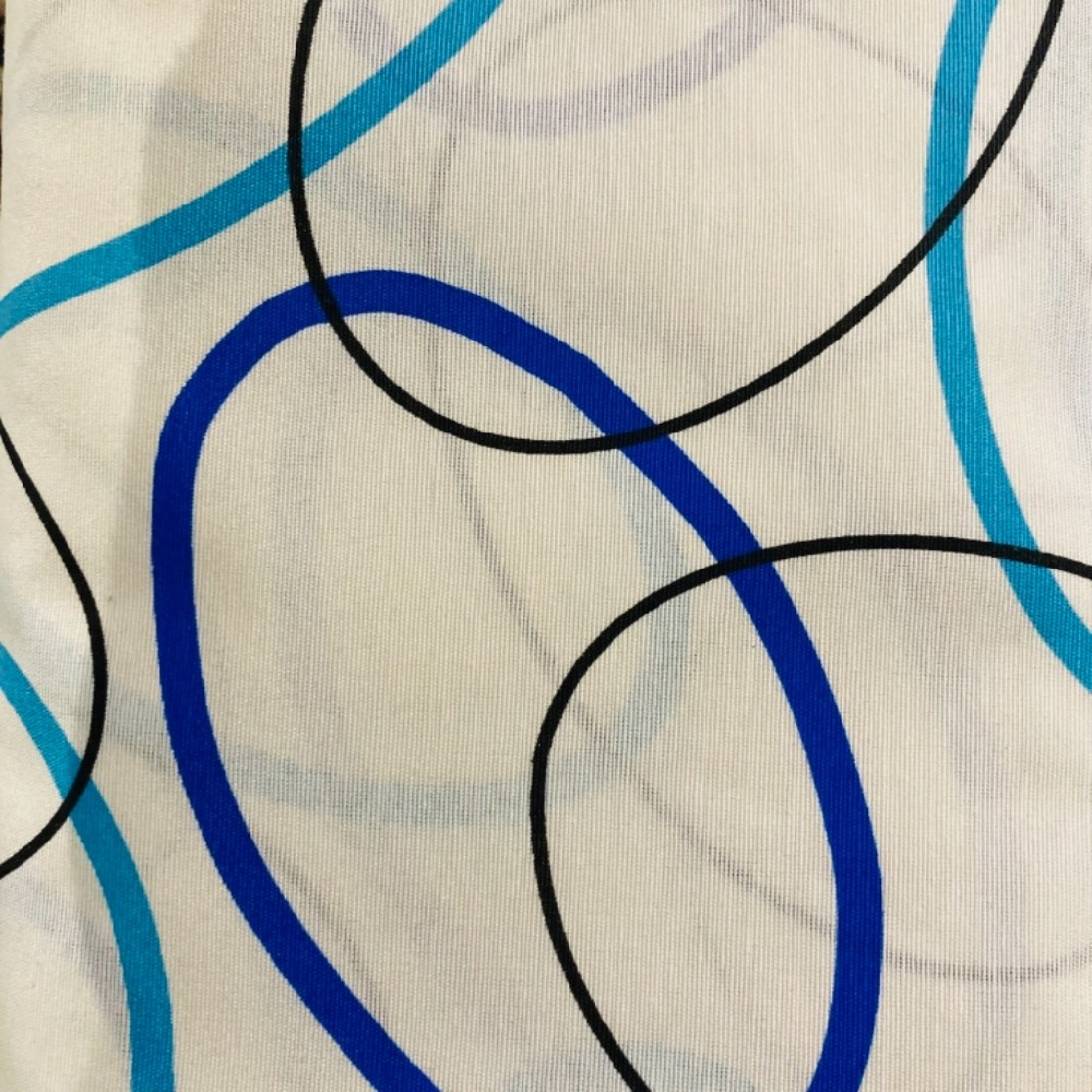 dekoračka EIFFEL/AZUL2/280 modr.tyrkys.kola