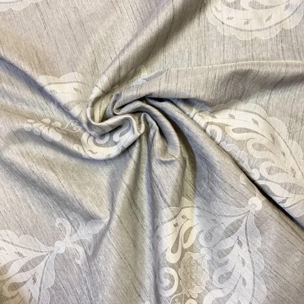 dekoračka šedý zámecký vzor š.150cm