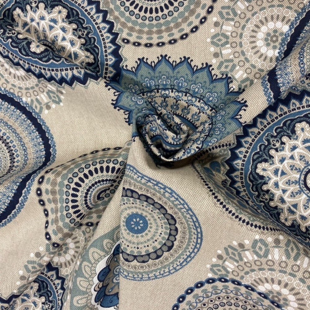 dekoračka  modré mandely  460/1