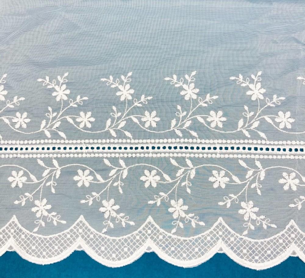 záclona Ma 597/601/045 vitrážka bílá voál