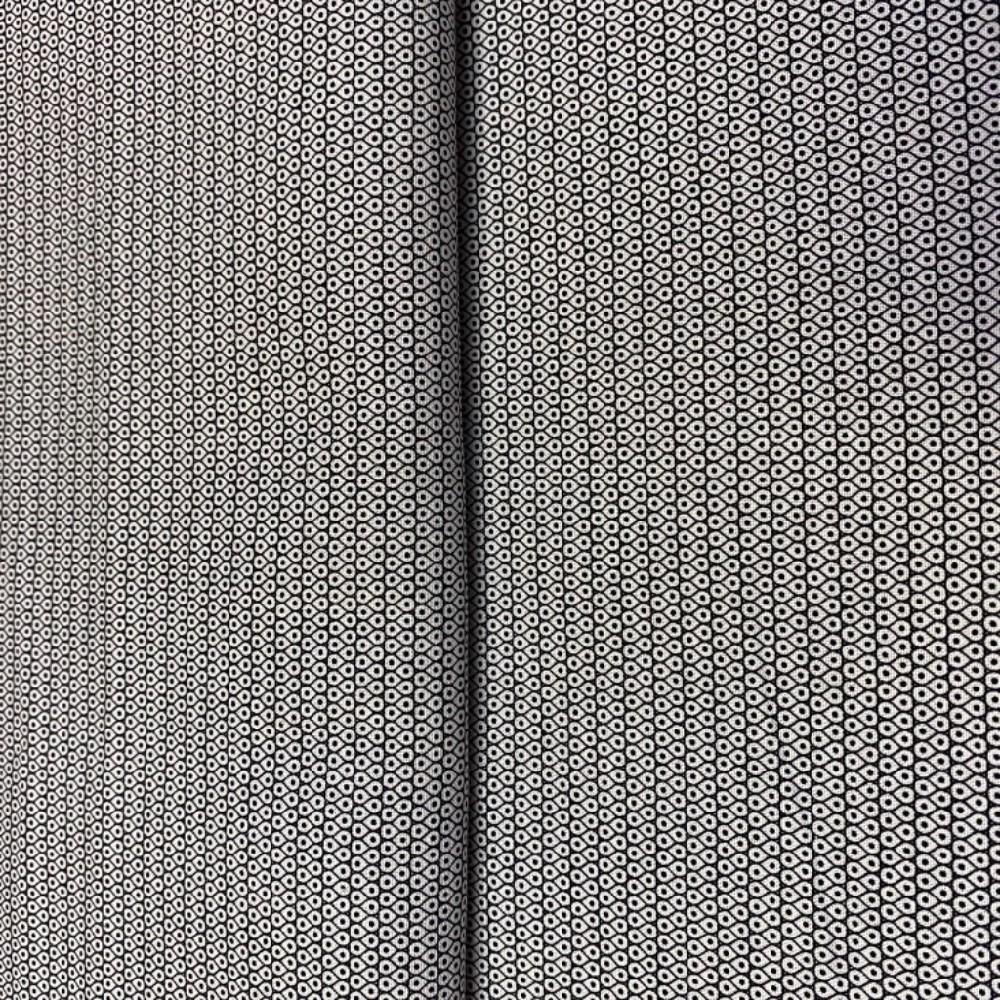 bavlna abstrakní černo.bílý vzor 110 ccm