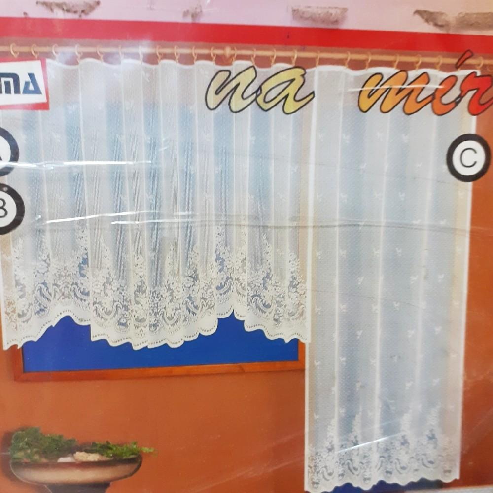 záclona hotová 145*310 cm
