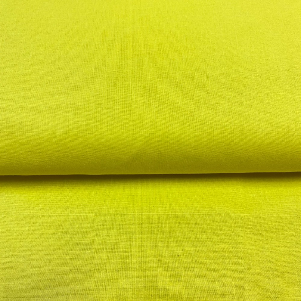 bavlna žlutá 140 cm
