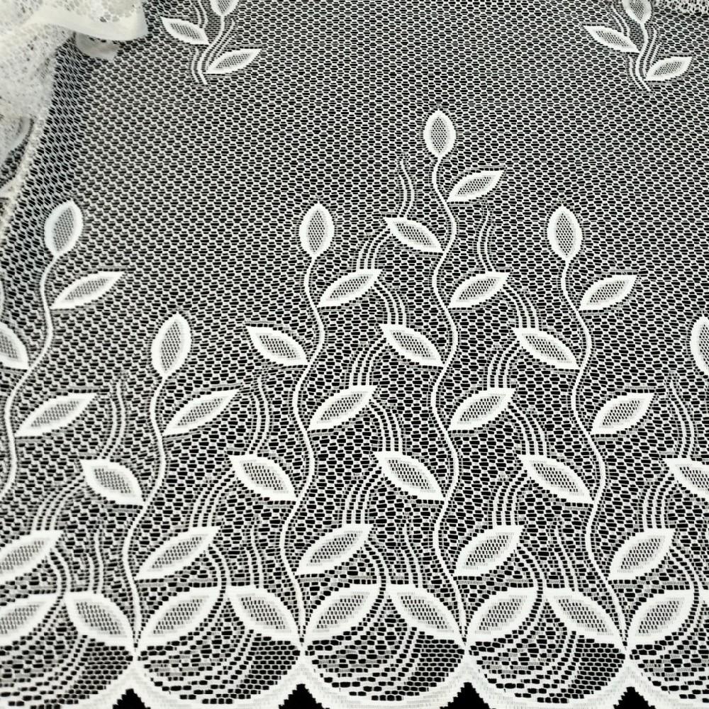 bavlna bílý puntík na žlutém podkladě 140 cm