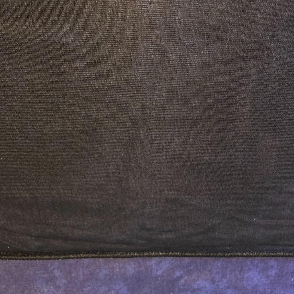 záclona Ho voál černý  300 cm