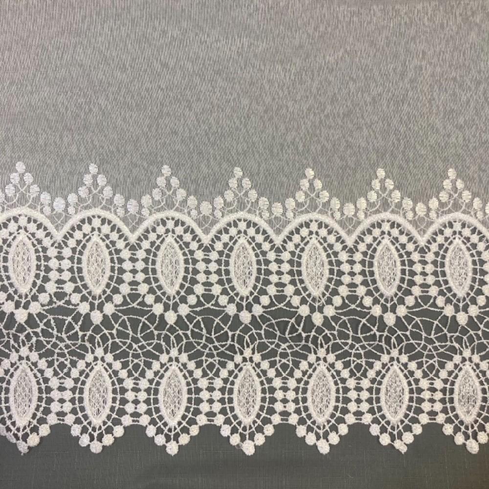 záclona Ve voáll vyšívaná 280 cm