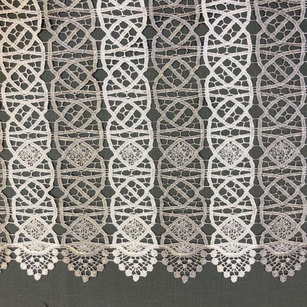 záclona Ve vyšívaná vitrážka v.50cm