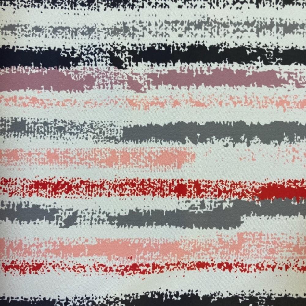 black out pruhy červené 150cm