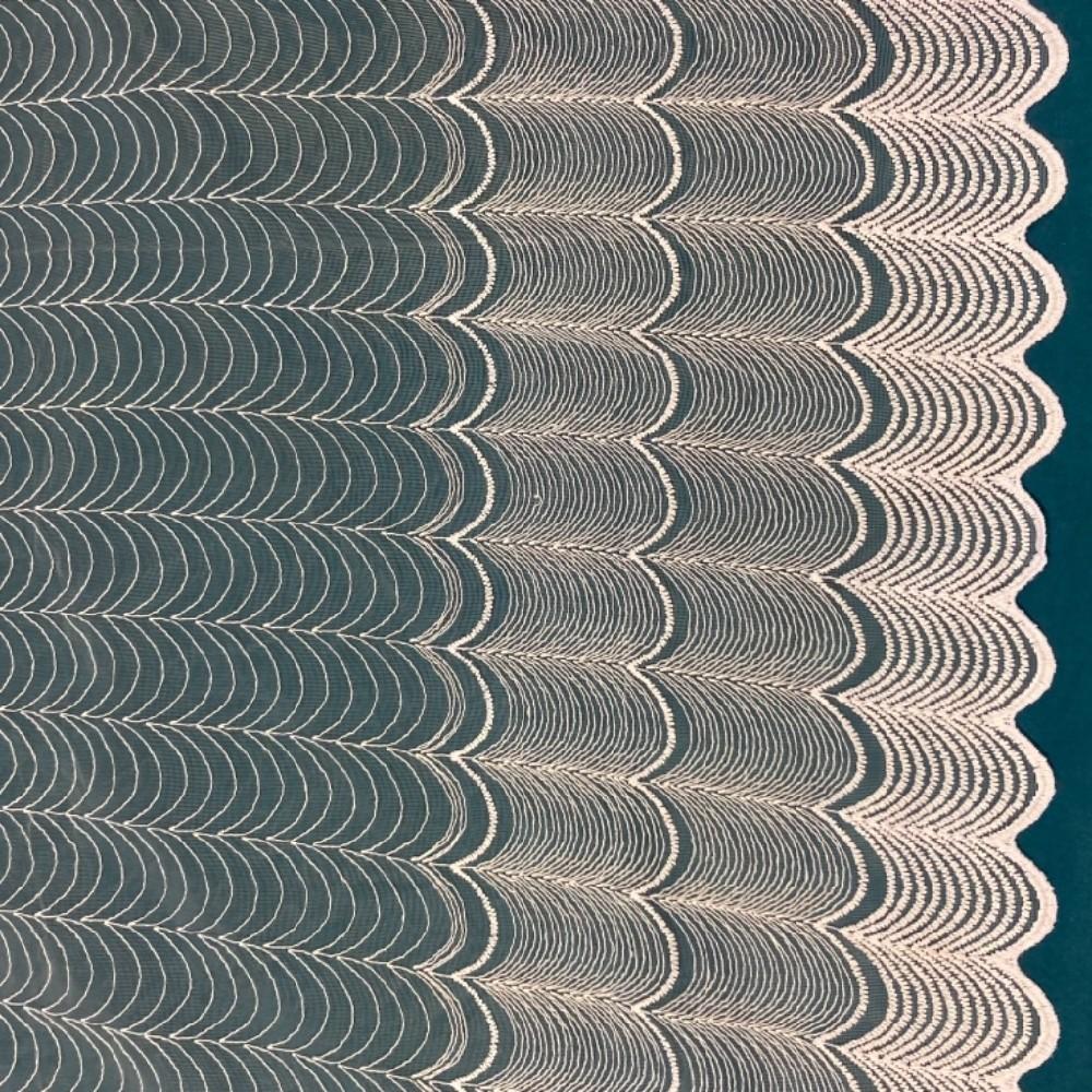záclona Firanky vyšívané vlnky 160 cm