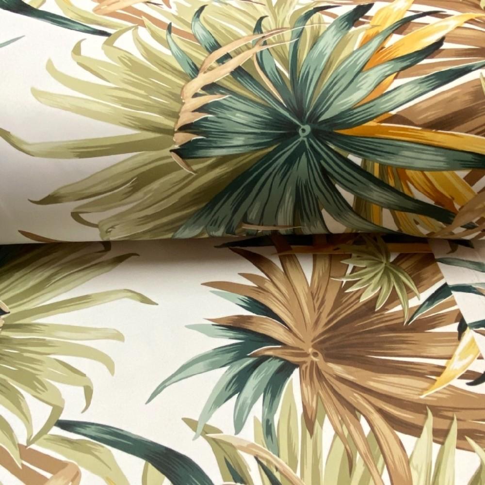 dekoaračka barevné palmy bílo.zele.hnědé 280cm PES/8015/04