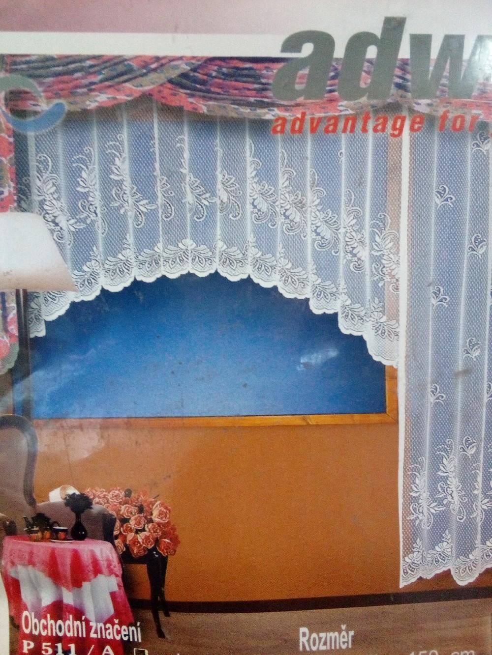 záclona hotová 150*230cm
