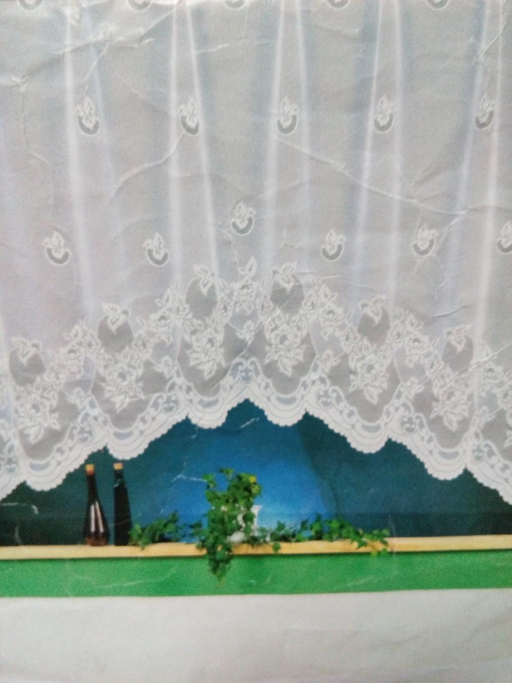 záclona Delfin 175x400cm,250x250 cm
