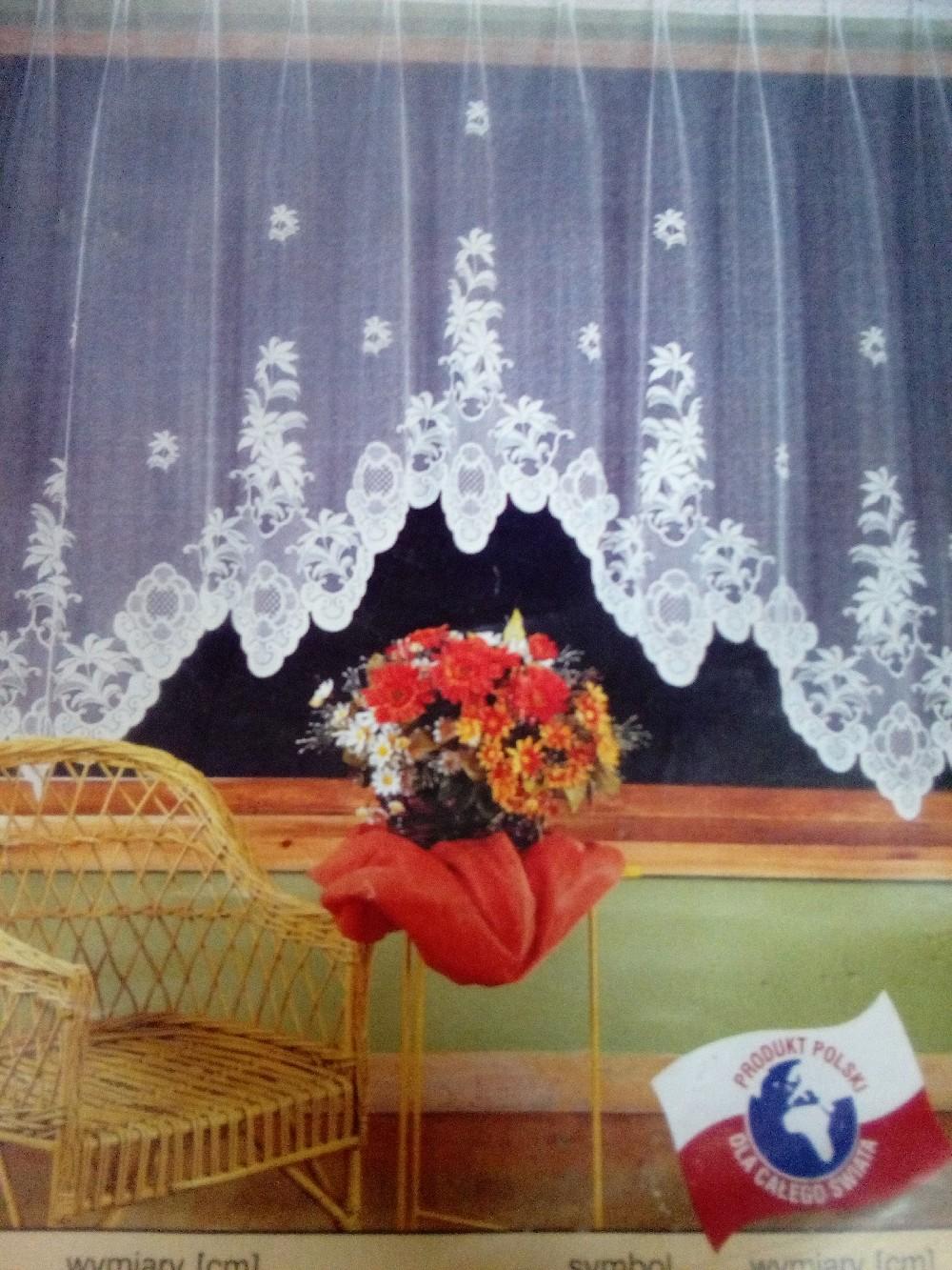 záclona hotová 180x320 cm