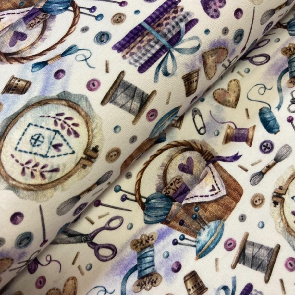 teplákovina šití