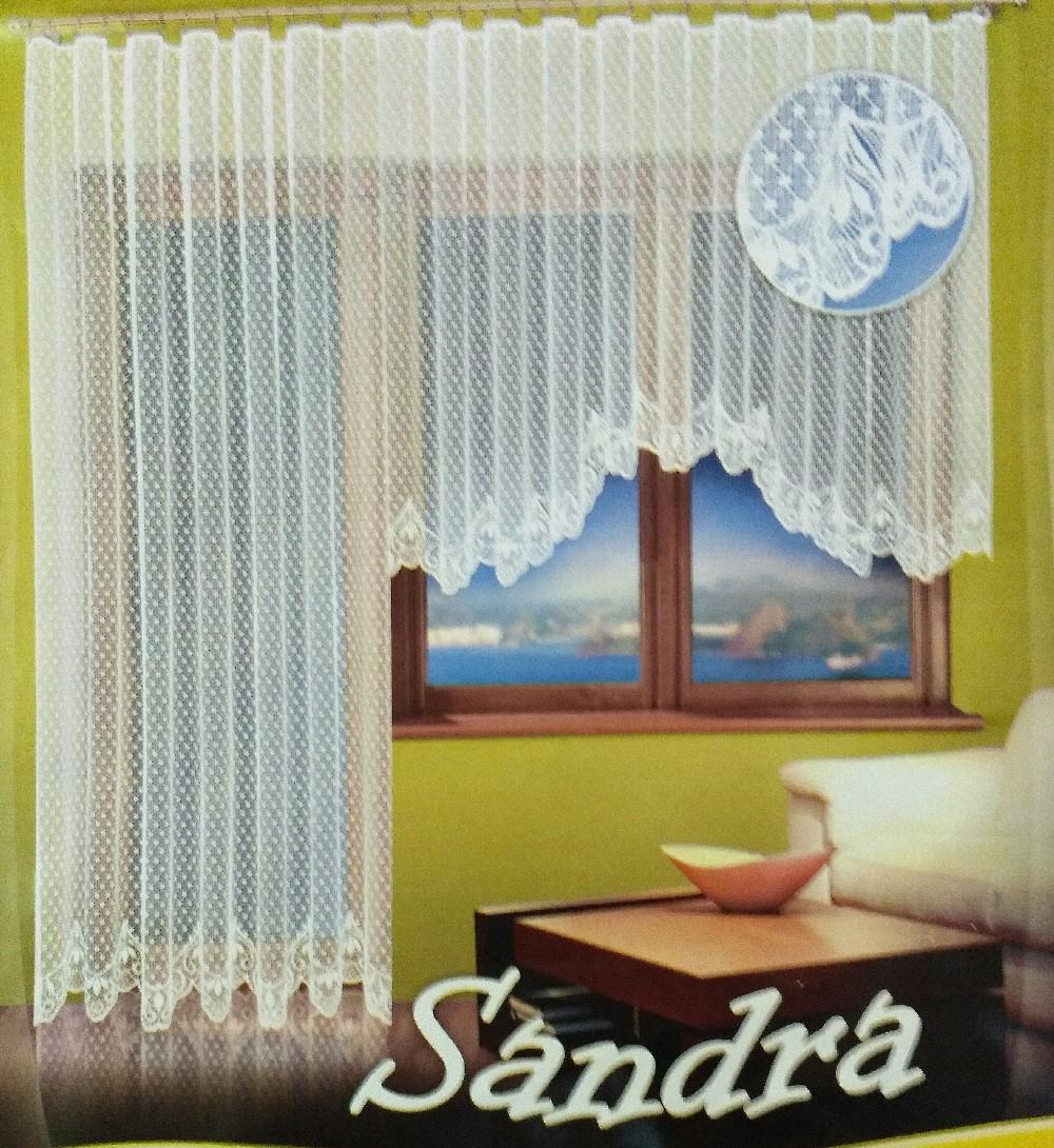 záclona hotová Sandra 160x400 cm
