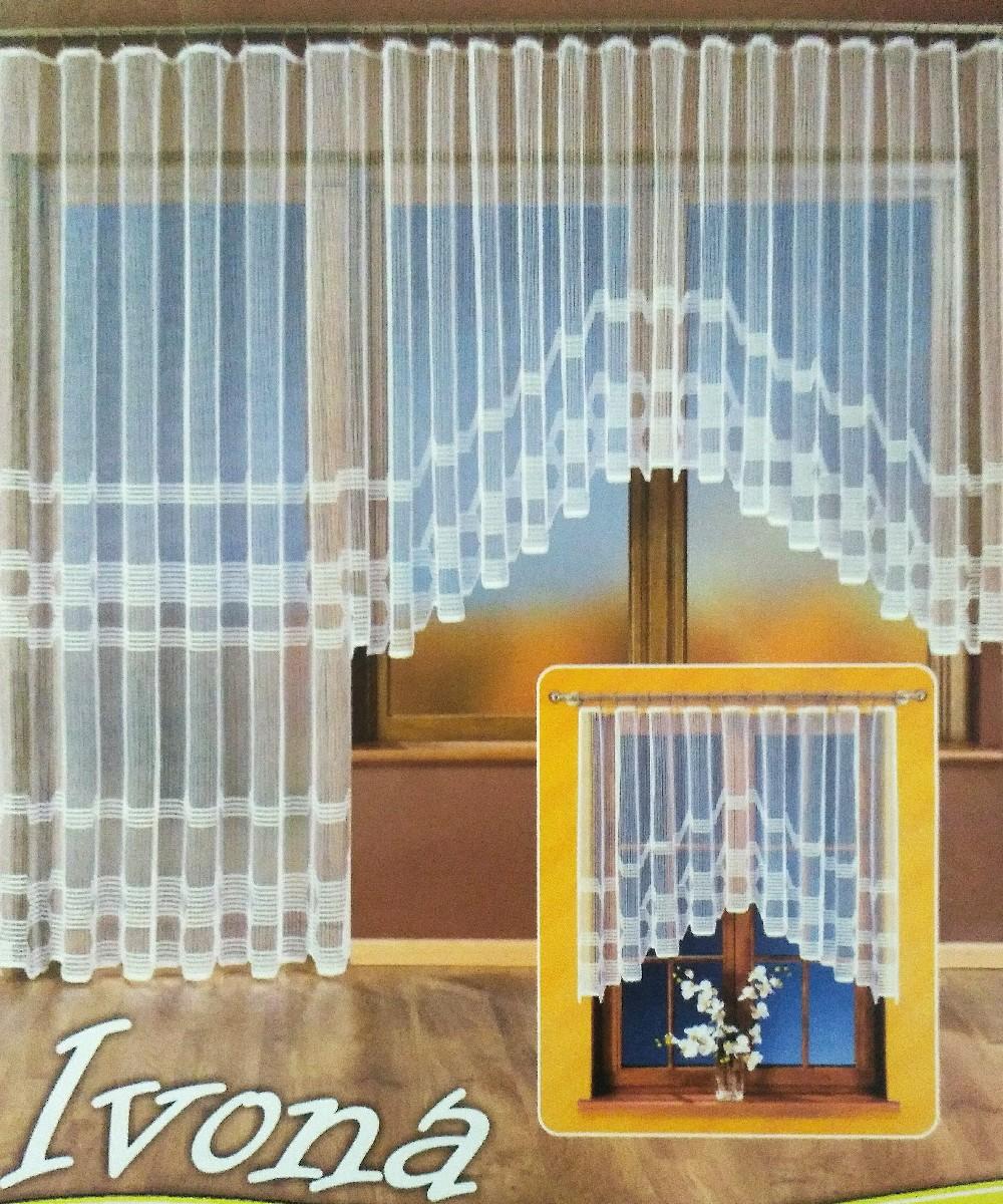 záclona hotová 180x380 cm Ivona