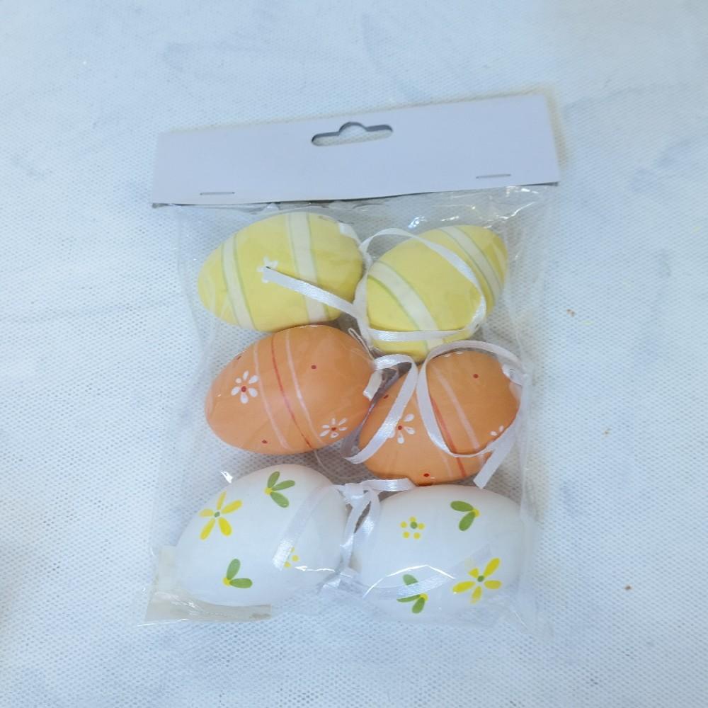 vejce plast 6ks