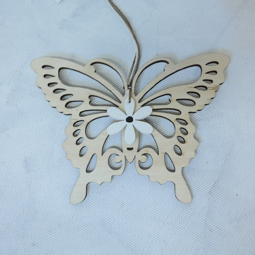 motýl dekorace závěs