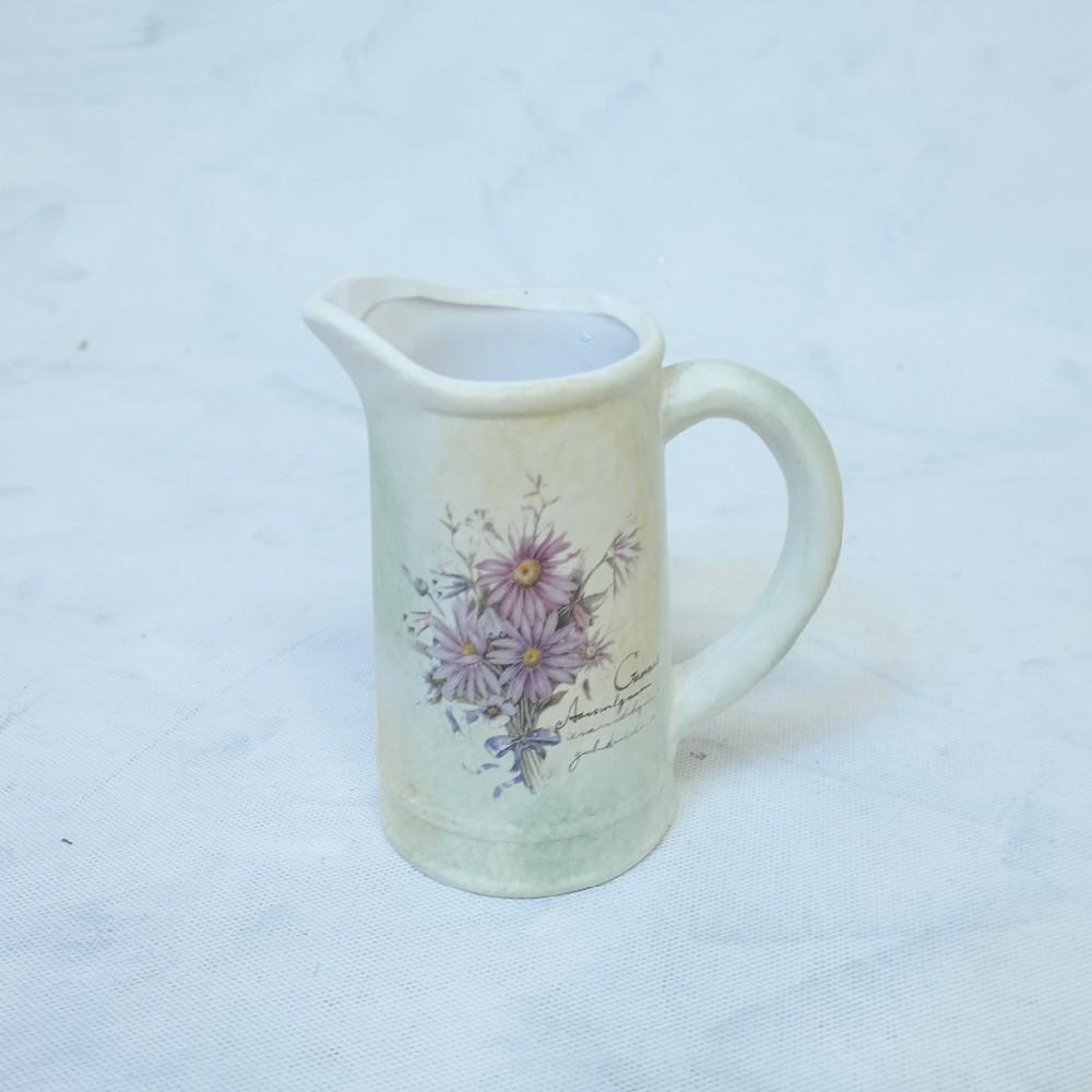 džbánek dekorace keramika