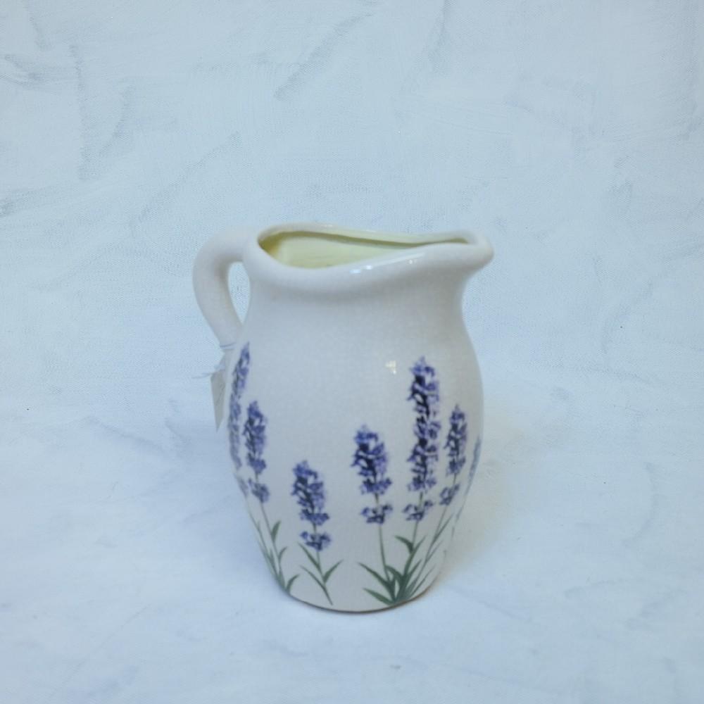 džbán levandule keramika