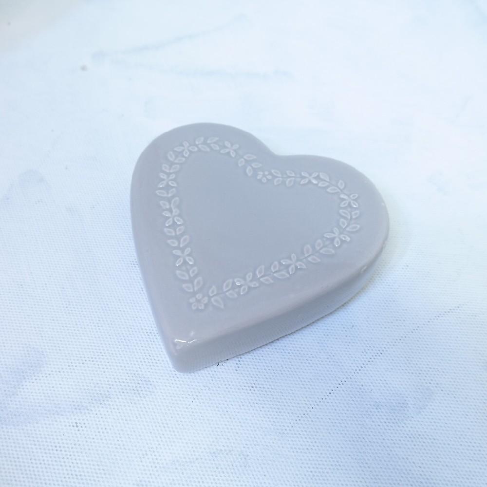 keramický zvlhčovač srdce