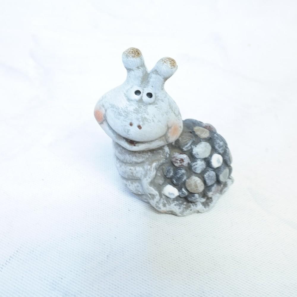 šnek keramika 10 cm