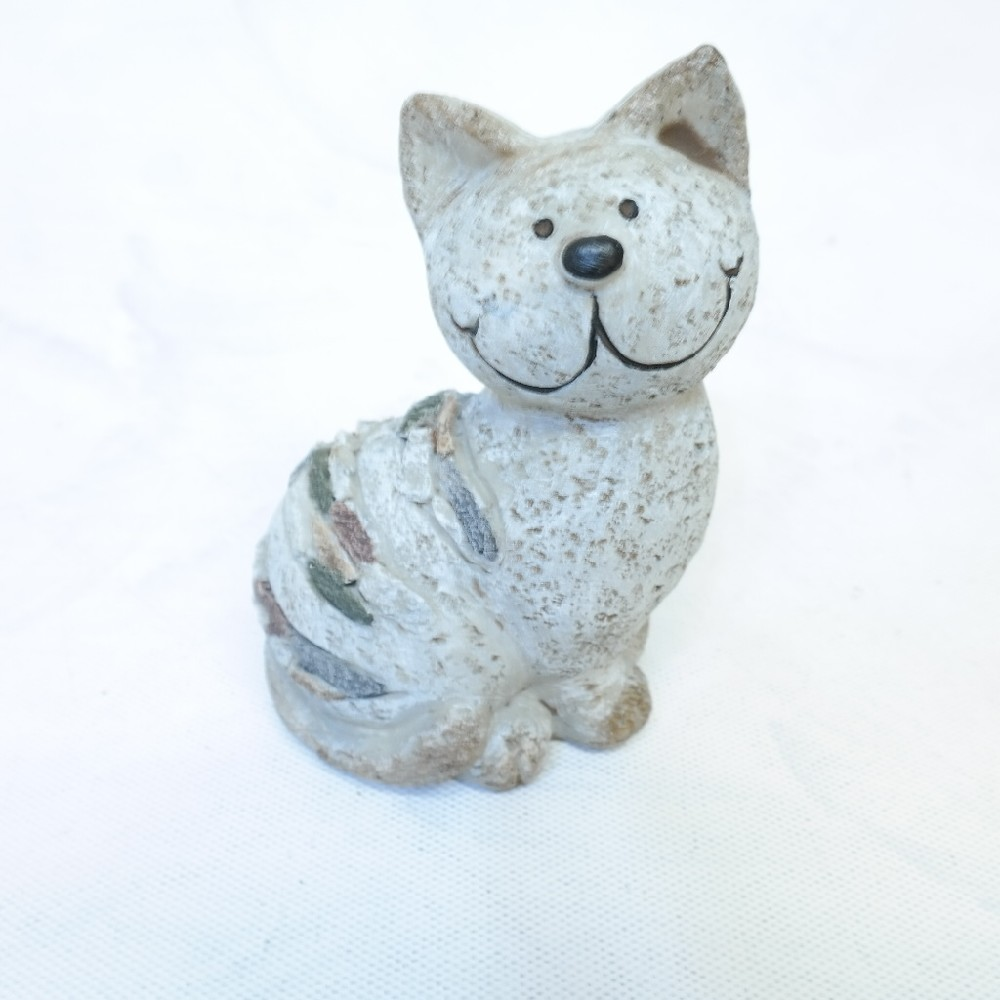 kočka keramika 14 cm
