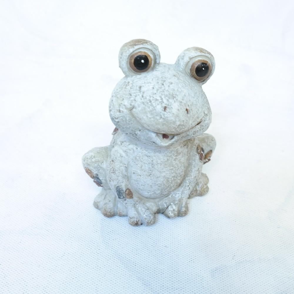 žába 14 cm keramika