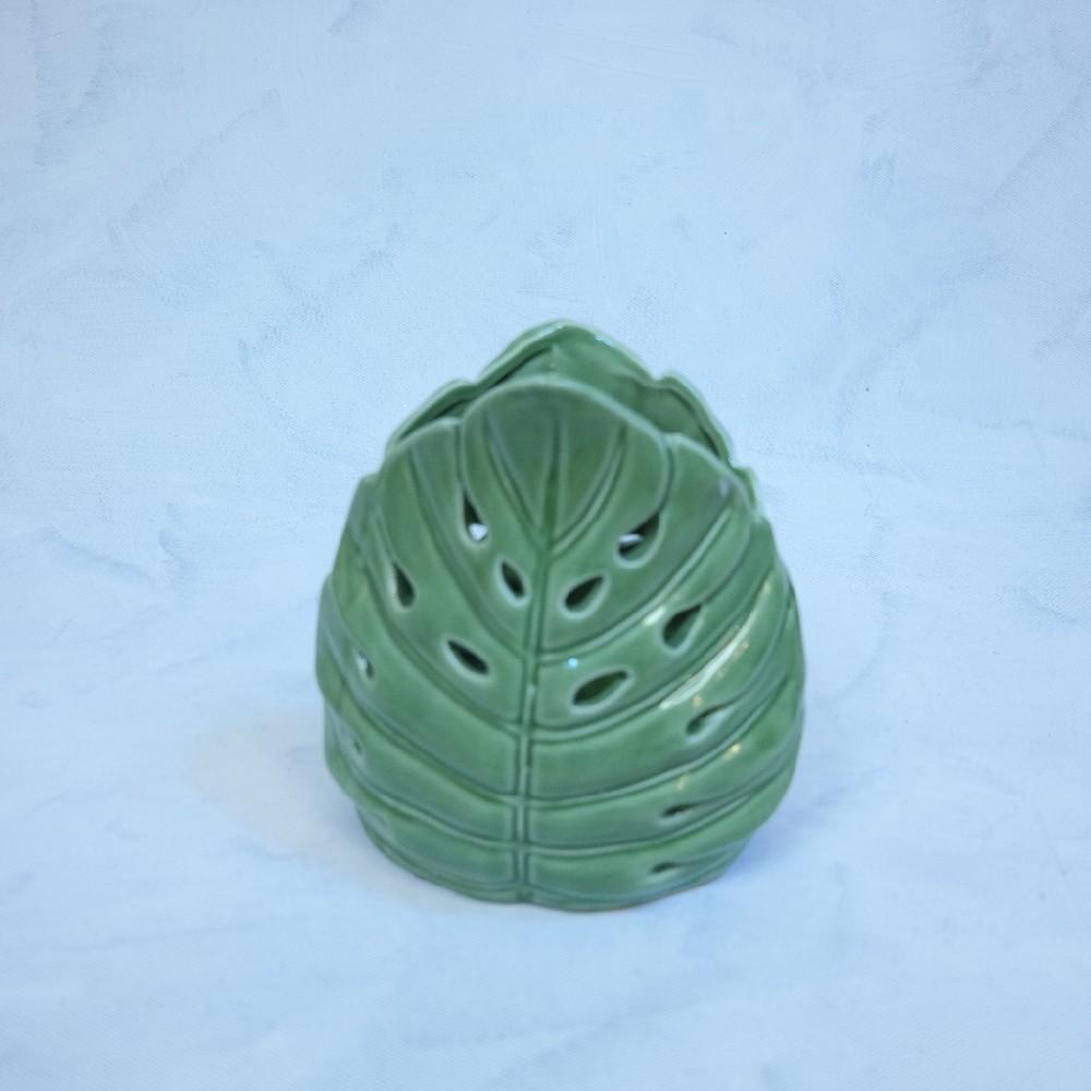 váza zelená18cm