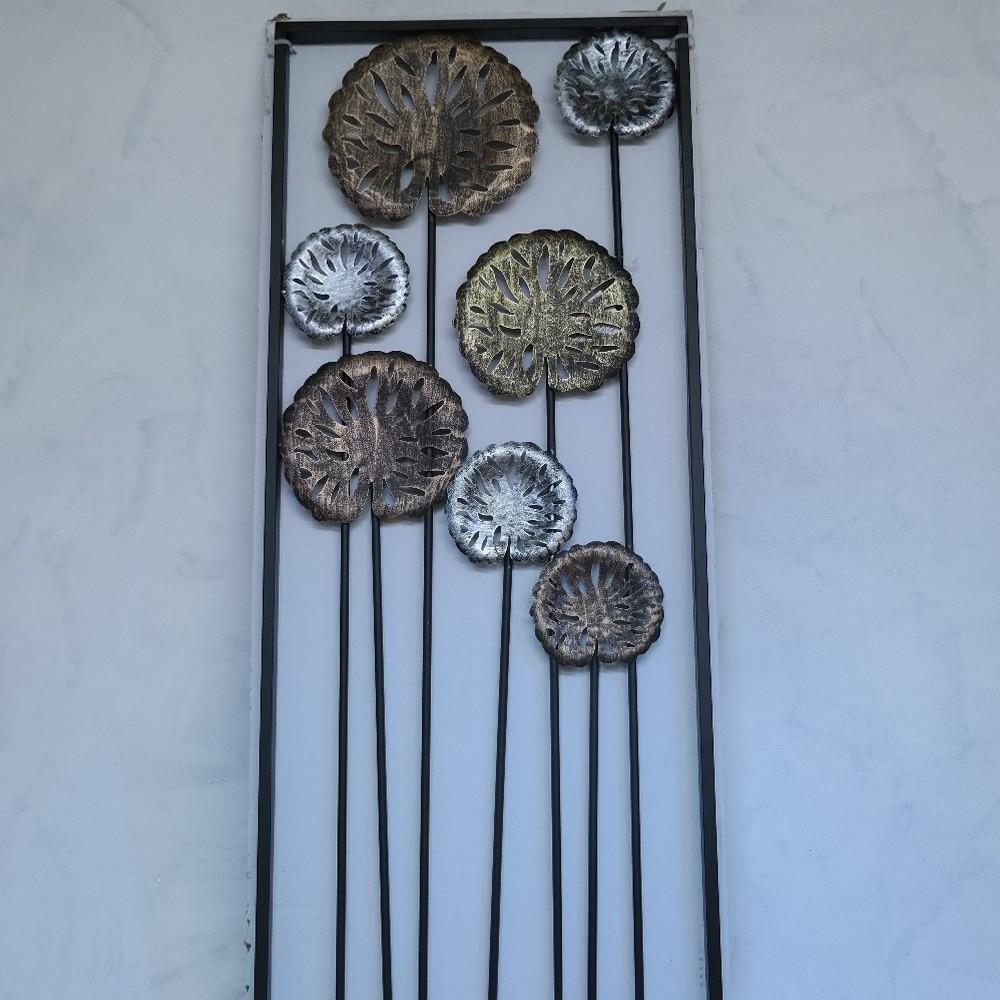 obraz kovový dekorace