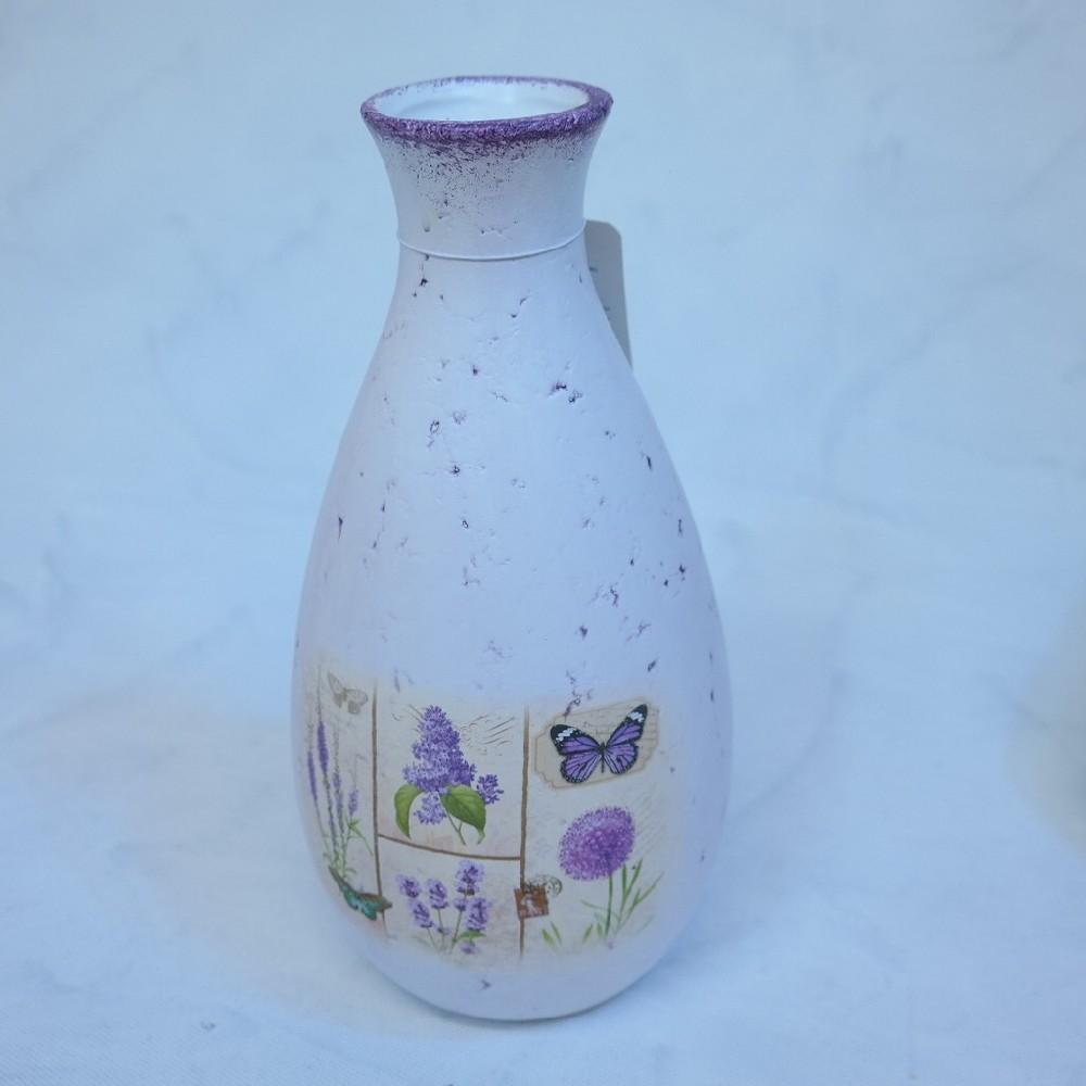váza bílá dekorace