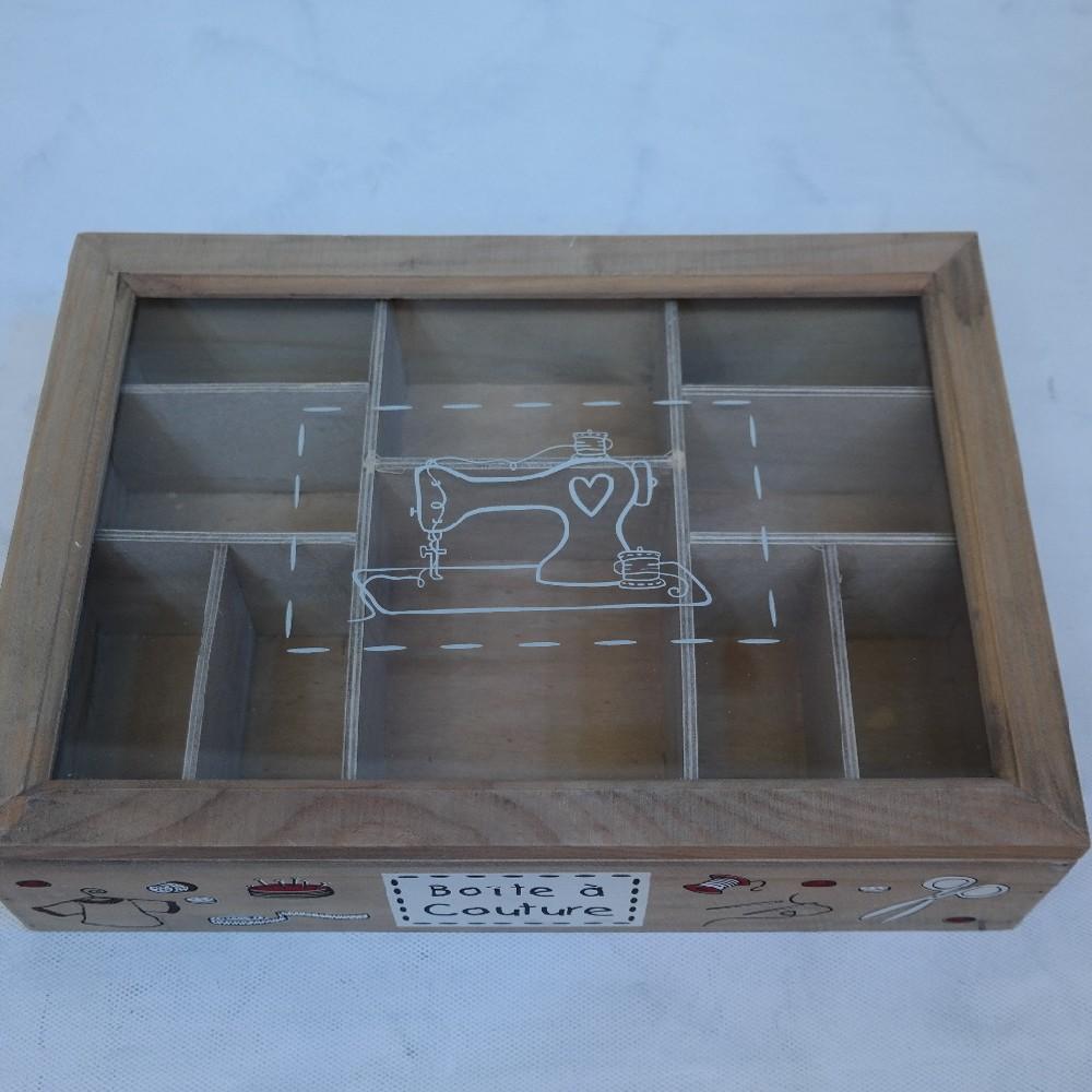 krabička na šití dřevo24x34x9cm