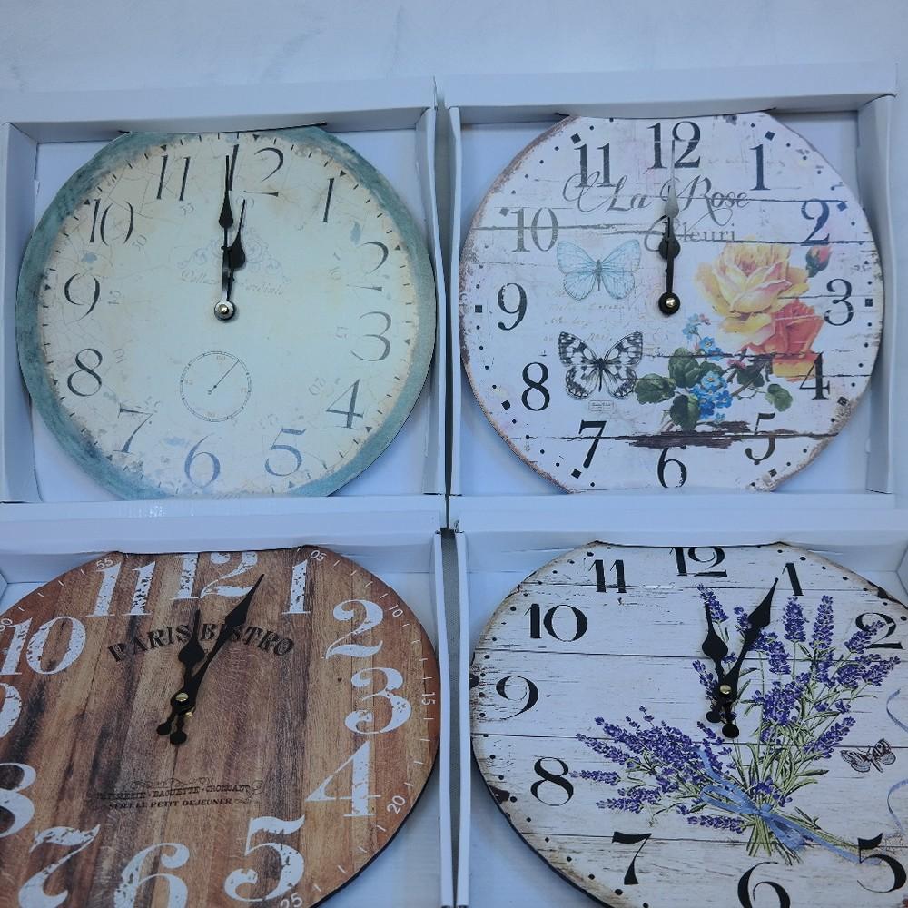 hodiny dekorace34cm