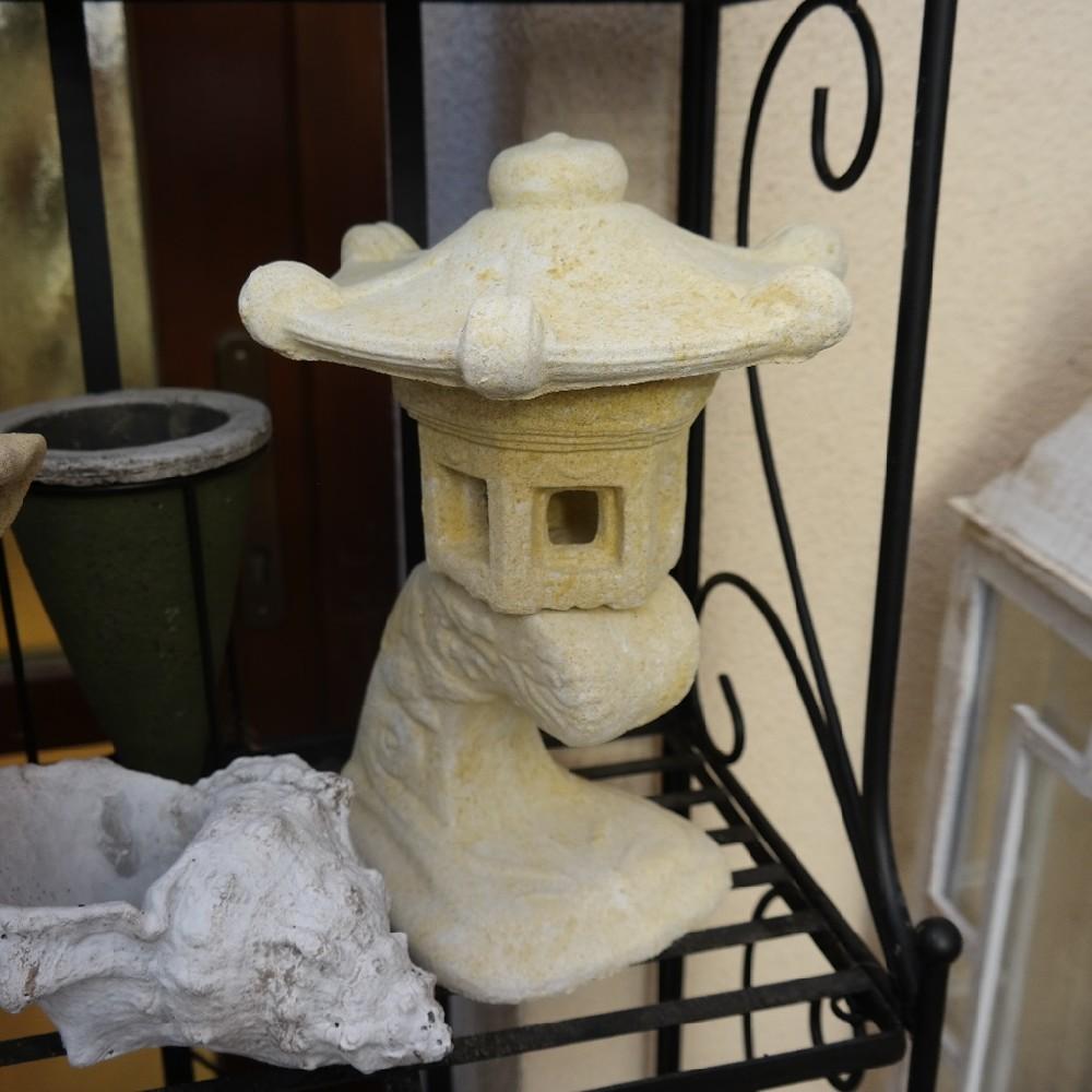 pískovec lampa malá