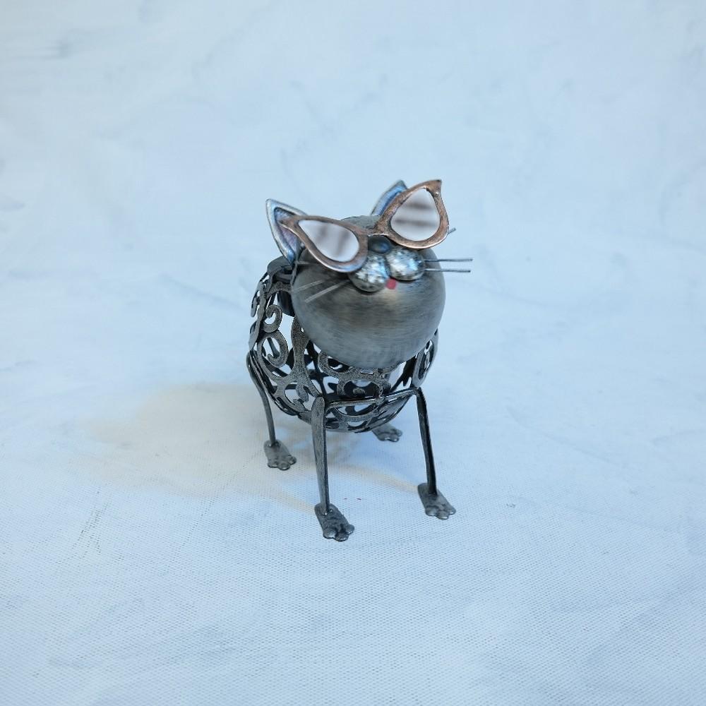 kočka kovová deoarce solar