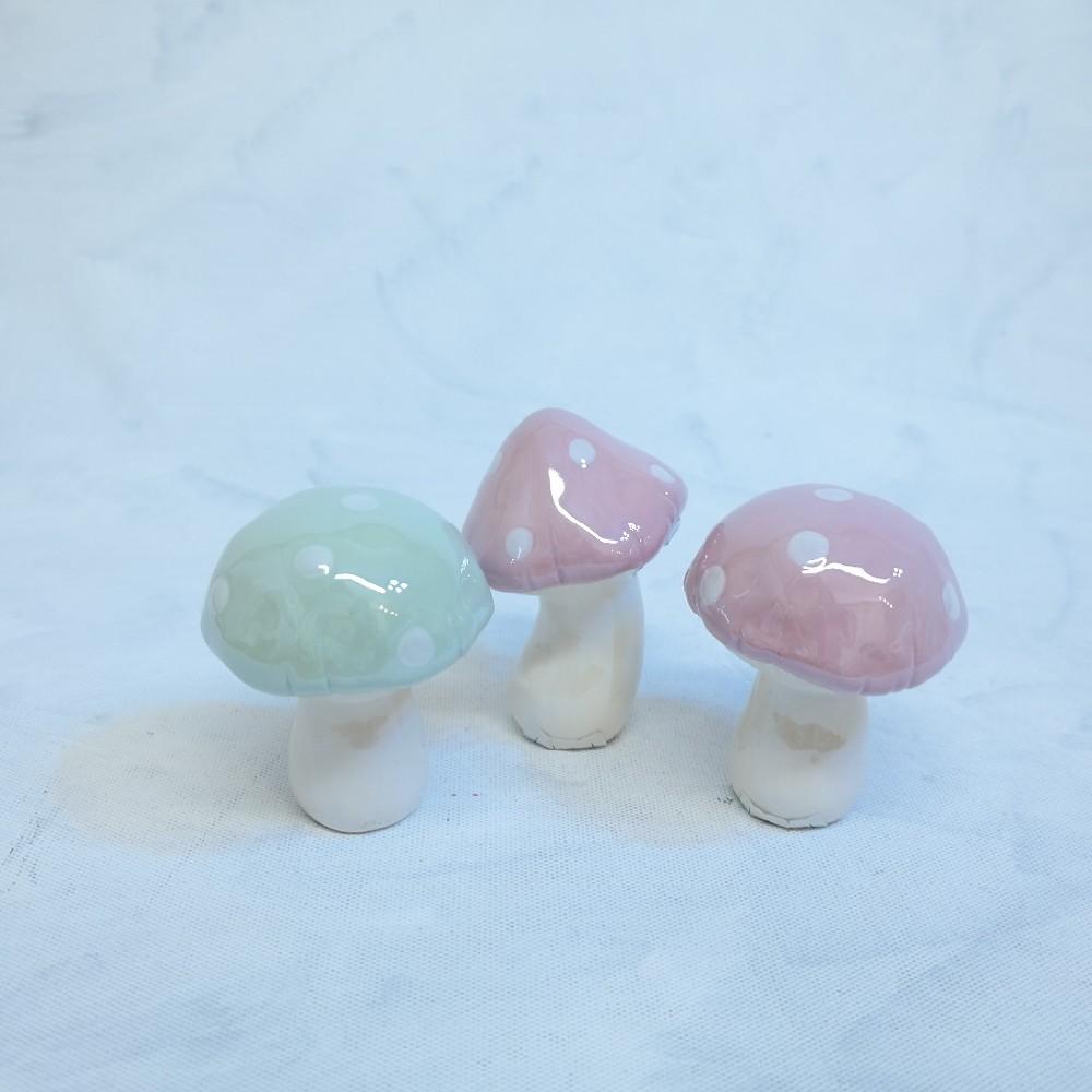 houbičky porcelánové