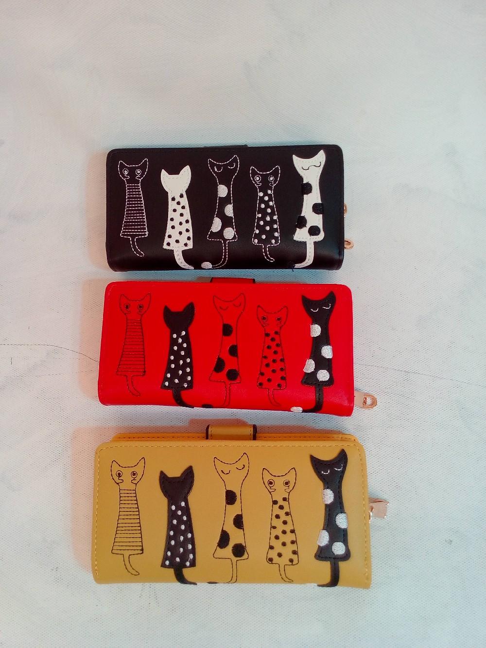 peněženka kočky