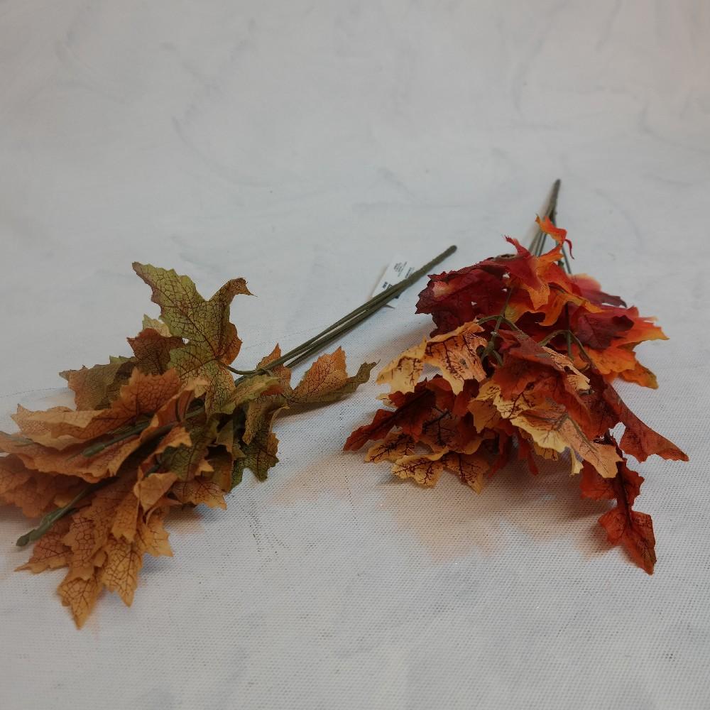 květina umělá listy podzimní