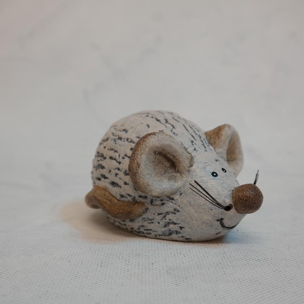 myšička  keramika